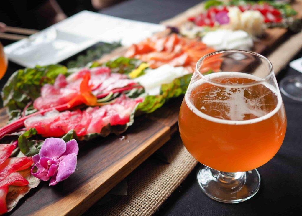 Алкогольные напитки к суши