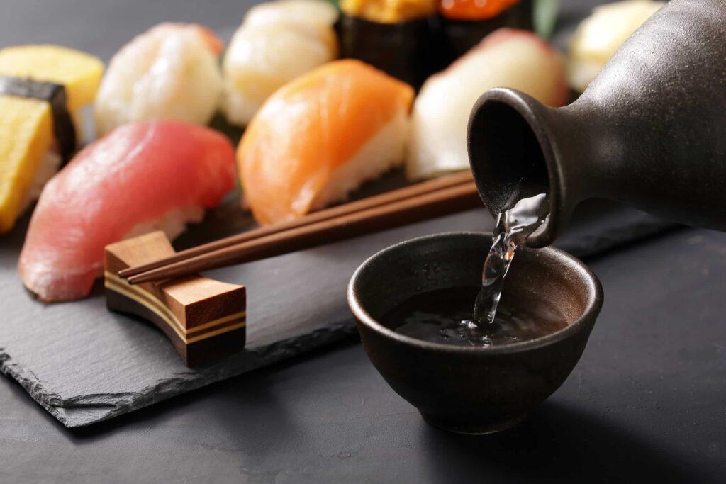 Безалкогольные напитки к суши