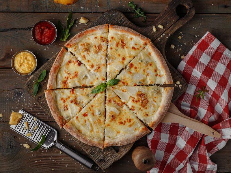 Пицца Груша Горгонзола