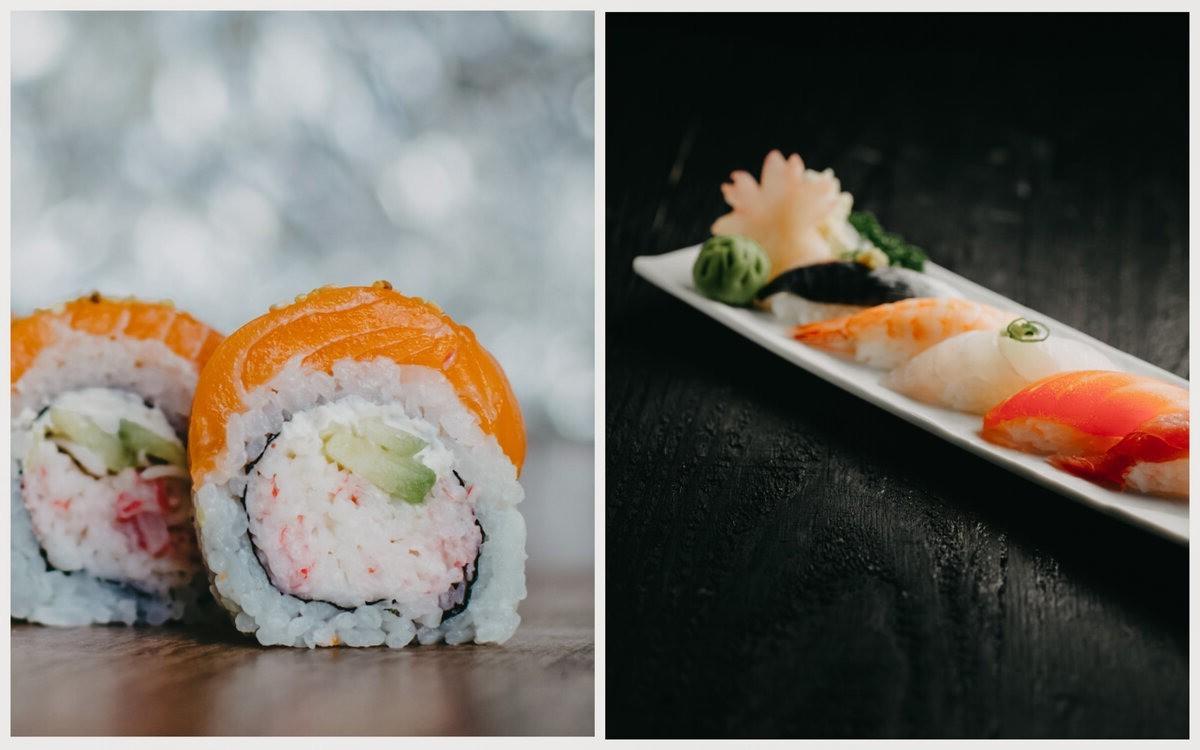 Отличие суши от роллов