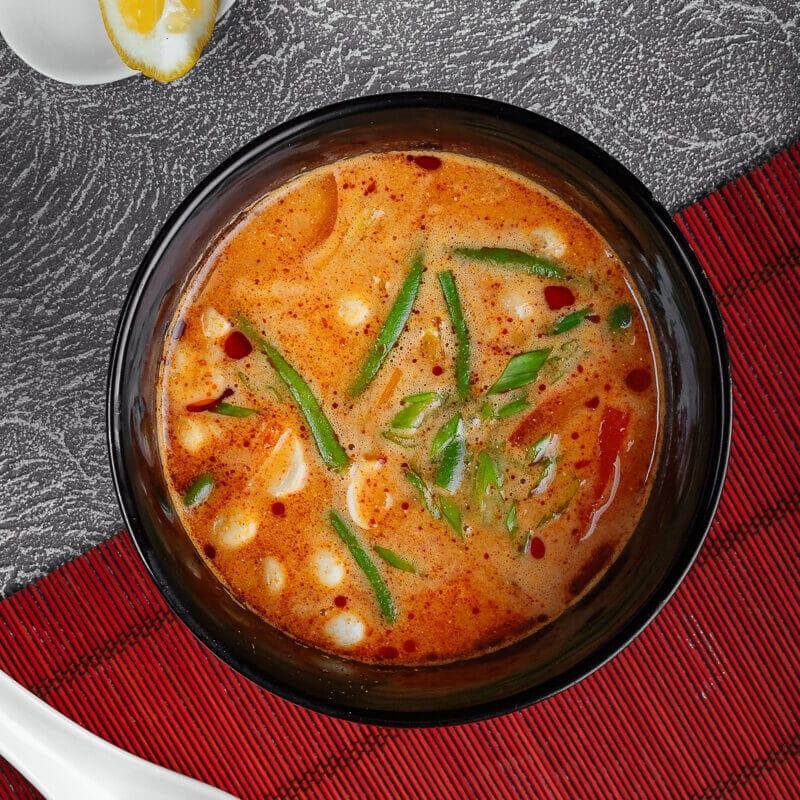 Суп Том Ям с овощами
