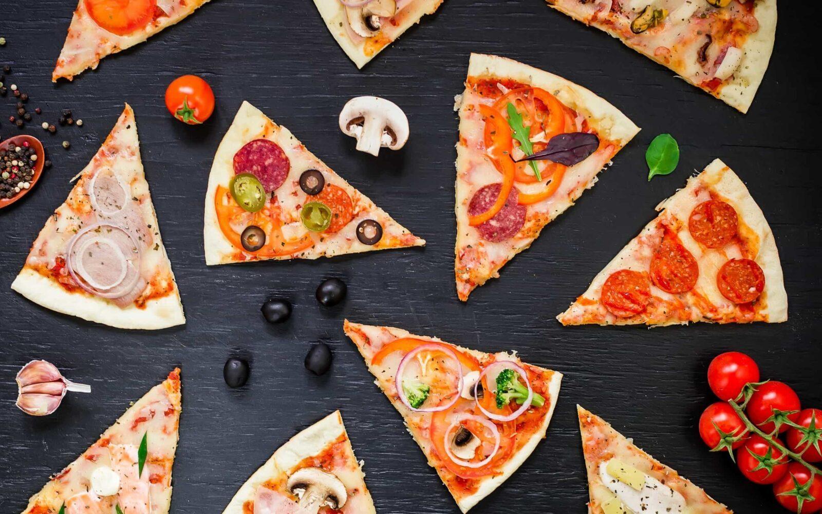 Виды пиццы - Ris